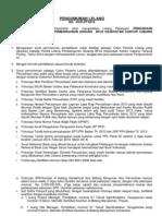Pengadaan Kontraktor Pelaksana Pembangunan Gedung BPJS Kesehatan Kantor Cabang Tanjung Pinang