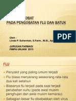 INTERAKSI OBAT Obat Flu Dan Batuk