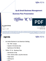 Entrepreneurship & Small Business Management