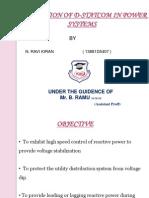 D statcom ppt by N.Ravi kiran (13881d5407)