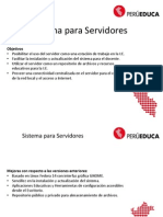 PeruEduca Escuela - Servidores