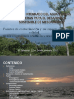 Contaminacion Aguas Costeras en El Salvador