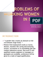 Problems of Working Women in India