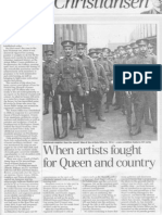When Artists Fought for Queen and Country