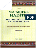 Maariful Hadith - English - Vol 4