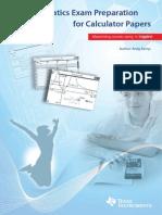 TI Nspire Calculator Instruction Booklet