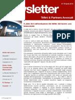 Newsletter T&P N°78