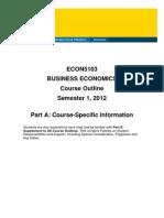ECON5103 Business Economics S12012