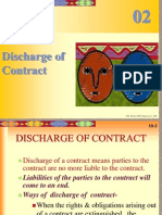 Discharge of Contract- L-5