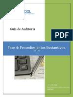Guia de Auditoria - Procedimientos Sustantivos - Ver 1.01