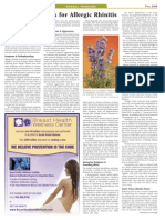 Article Hedayat.allergic Rhinitis.holistic Primary Care