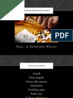 Penyalahgunaan obat