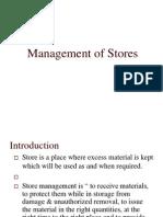 Storemanagement Unit 5
