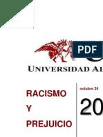 Trabajo de Antropologia Racismo y Prejuicios