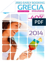 Catalog Grecia Insulara 2014