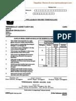 Sejarah Kertas 2 Ting 4 Terengganu 2011 2