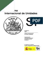 Sistema Internacional de Unidades SIU 8a Ed 2006