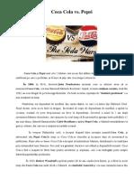 Tehnici Promotionale - Coca Cola vs. Pepsi