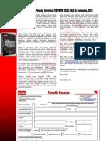 Studi Tentang Potensi dan Peluang Investasi INDUSTRI BESI BAJA di Indonesia, 2012