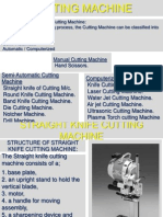 Cutting Machines Ppt