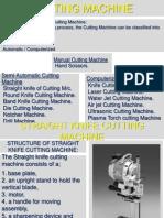 Cutting Machines Ppt