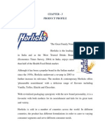 Horlicks Proffduct Profile