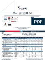 Training Schedule Inixindo Periode Jan-Jul 2014