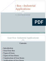 Gear Box –Industrial Applications