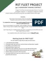 first fleet project final