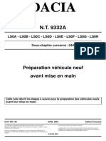 NT Nr. 9332A - Prepararea Vehiculelor Noi
