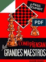 50-Escaques-Como Piensan Los Grandes Maestros