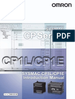 W461-E1-02 CP1E Introduction Manual
