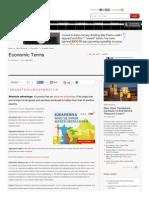 Www Economywatch Com Indianeconomy Glossary-Of-economic-terms