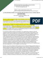 (Las Transformaciones Actuales Del Espacio Público en El Centro Urbano de Montevideo.)