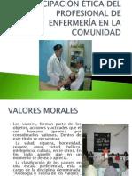 Participación Ética Del Profesional de Enfermería en La