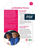 introducing kidsmatter primary mh info sheet