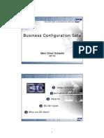 SAP Business Configuration Sets (BCSETS) Overview