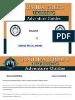 Joshua Tree Climbing