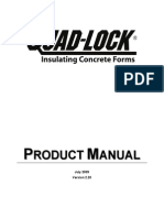 Quad-Lock Product Manual Print