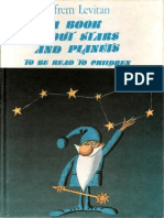 a Book About Stars and Planets - To Be Read to Children 1986