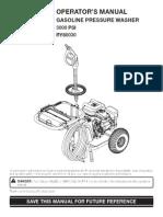 Ryobi Pressure Washer Manual (RY80030)