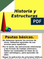 Historia y Estructuras