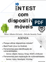 Pentest Com Dispositivos Moveis