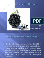 BlackBerry in Health Care