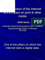 The Evolution of the Internet and It's Impact on Print and Other Media_IDC_IIT Bombay_Oct 29, '09