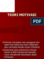 1. Teori Motivasi