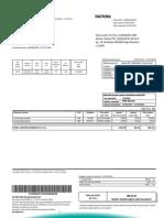 Factura GDF SUEZ Energy Romania Nr 010903218557