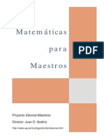 Matematica Maestros DiazGodino I