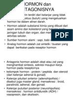 Hormon Dan Antagonisnya