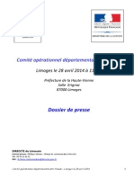 Dossier Presse CODAF 87
